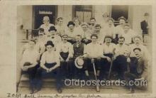 spo003159 - Manchester, NH?  Base Ball Baseball Real Photo Postcards Post Card