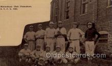 spo003165 - Shrewsbury, PA USA S.Y.C.L 1910 Club Champions Base Ball Baseball Real Photo Postcards Post Card