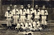 spo003171 - Base Ball Baseball Real Photo Postcards Post Card