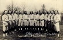 spo003184 - House of David Base Ball Team Base Ball Baseball Real Photo Postcards Post Card