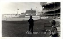 spo003207 - Yankee Stadium 1960 Inside New York City, New York Base Ball Baseball Real Photo Postcards Post Card