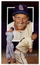 spo003662 - Stan Musial Baseball, Old Vintage Antique Postcard Post Cards