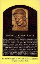 spo003801 - Edward Arthur Walsh Baseball Hall of Fame Card, Old Vintage Antique Postcard Post Card