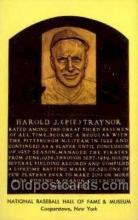 spo003812 - Harold J pie Traynor Baseball Hall of Fame Card, Old Vintage Antique Postcard Post Card