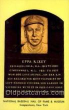 spo003823 - Eppa Rixey Baseball Hall of Fame Card, Old Vintage Antique Postcard Post Card
