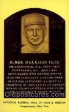 spo003825 - Elmer Harrison Flick Baseball Hall of Fame Card, Old Vintage Antique Postcard Post Card