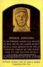 spo003837 - Hughie Jennings Baseball Hall of Fame Card, Old Vintage Antique Postcard Post Card