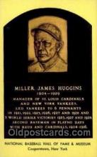 spo003839 - Miller James Huggins  Baseball Hall of Fame Card, Old Vintage Antique Postcard Post Card