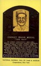 spo003840 - Stanley Frank Musial Baseball Hall of Fame Card, Old Vintage Antique Postcard Post Card