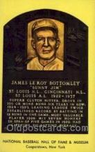spo003848 - James Le Roy Bottomley Sunny Jim Baseball Hall of Fame Card, Old Vintage Antique Postcard Post Card