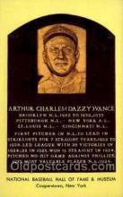 spo003852 - Arthur Charles Dazzy Vance Baseball Hall of Fame Card, Old Vintage Antique Postcard Post Card
