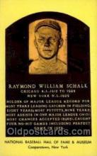 spo003854 - Raymond William Schalk Baseball Hall of Fame Card, Old Vintage Antique Postcard Post Card