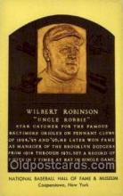 spo003861 - Wilbert Robinson Uncle Robbie Baseball Hall of Fame Card, Old Vintage Antique Postcard Post Card