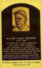 spo003870 - Miller James Huggins  Baseball Hall of Fame Card, Old Vintage Antique Postcard Post Card