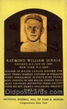 spo003874 - Raymond William Schalk Baseball Hall of Fame Card, Old Vintage Antique Postcard Post Card