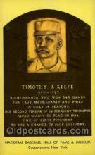 spo003888 - Timothy J Keefe Baseball Hall of Fame Card, Old Vintage Antique Postcard Post Card