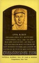 spo003895 - Eppa Rixey Baseball Hall of Fame Card, Old Vintage Antique Postcard Post Card