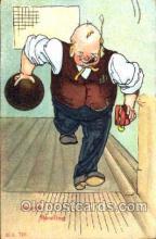 spo004031 - Bowling Postcard Postcards