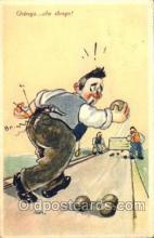 spo004036 - Bowling Postcard Postcards