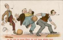 spo004038 - Bowling Postcard Postcards