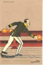 spo004053 - Bowling Postcard Postcards
