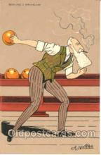 spo004054 - Bowling Postcard Postcards