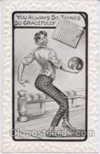 spo004071 - Bowling Postcard Postcards