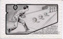 spo004077 - Bowling Postcard Postcards