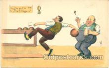 spo004081 - Bowling Postcard Postcards
