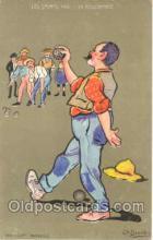 spo004082 - Bowling Postcard Postcards