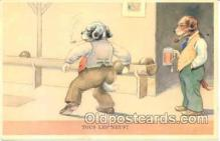 spo004084 - Dresses Dog, Amimal, Bowling Postcard Postcards