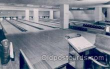 spo004109 - Lake Shore Club of Chicago, USA, Bowling Ailey Postcard Postcards