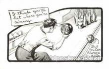 spo004111 - Bowling Postcard Postcards