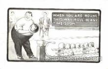 spo004115 - Bowling Postcard Postcards