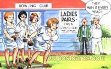 spo004118 - Bowling Postcard Postcards