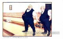 spo004130 - Bowling Postcard Postcards