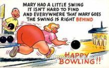 spo004140 - Bowling Postcard Postcards