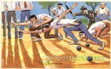 spo004142 - Bowling Postcard Postcards