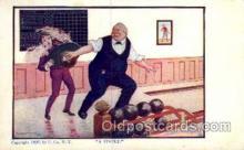 spo004148 - Bowling Postcard Postcards