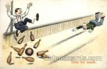 spo004149 - Bowling Postcard Postcards