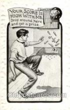 spo004176 - Bowling Postcard Postcards