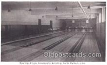 spo004213 - North Canton, Ohio, USA Bowling, Bowling Alley, Postcard Postcards