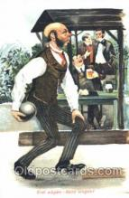 spo004219 - Bowling, Bowling Alley, Postcard Postcards