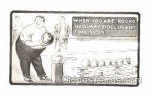 spo004222 - Bowling, Bowling Alley, Postcard Postcards