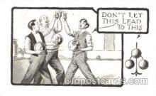 spo004226 - Bowling, Bowling Alley, Postcard Postcards