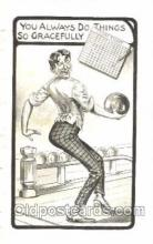 spo004228 - Bowling, Bowling Alley, Postcard Postcards