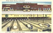 spo004232 - Bowling Postcard Postcards