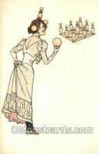 spo004234 - Bowling Old Vintage Antique Postcard Post Cards