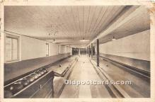 spo004275 - Old Vintage Bowling Postcard Post Card