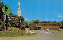 spo004290 - Old Vintage Bowling Postcard Post Card